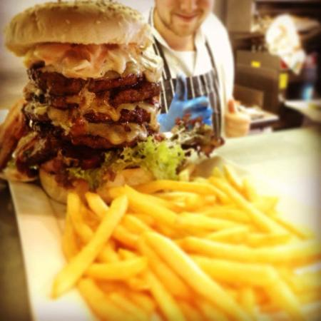 Our RBK tower burger...double this up?