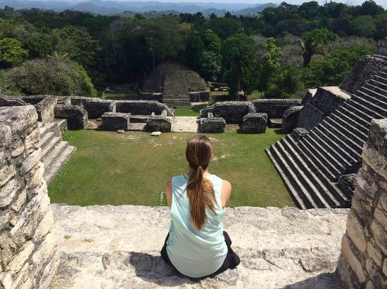 San Ignacio, Belize: Views from the top of Caracol.