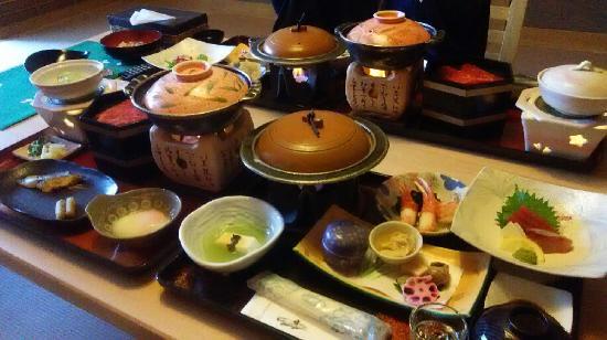 Kinugawa Plaza Hotel: 夕食