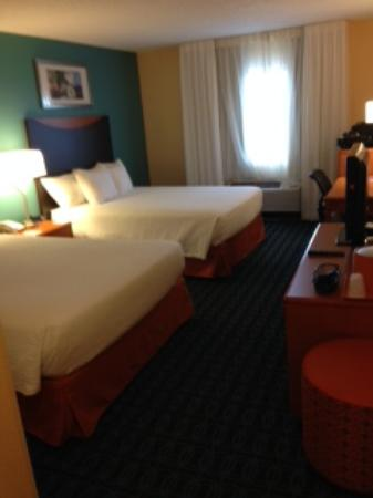 Fairfield Inn & Suites Lubbock: Bedroom