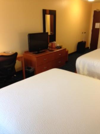 Fairfield Inn & Suites Lubbock: TV