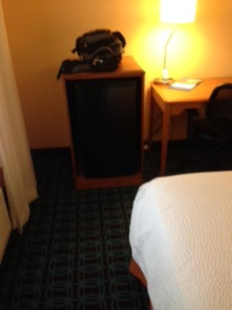 Fairfield Inn & Suites Lubbock: Mini Fridge