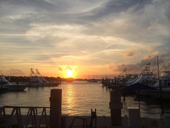 Sailfish Marina Resort : Sailfish sunset