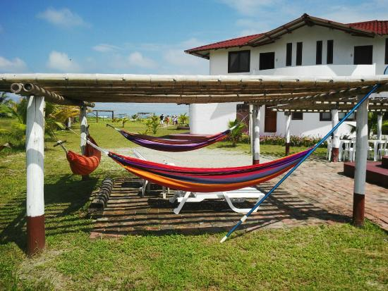 La Playa Lodge: Amplias zonas de descanso