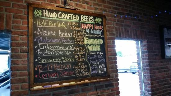 Atomic Ale Brewpub & Eatery