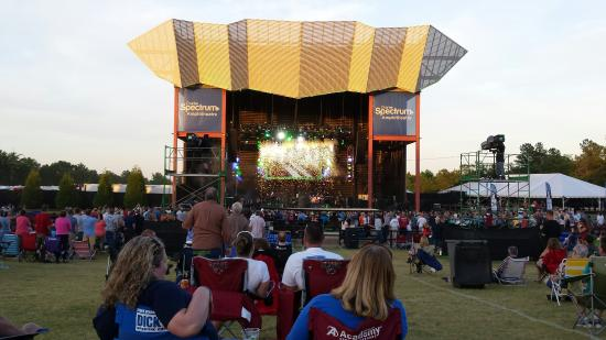 Simpsonville, Carolina del Sur: Great place for concerts!