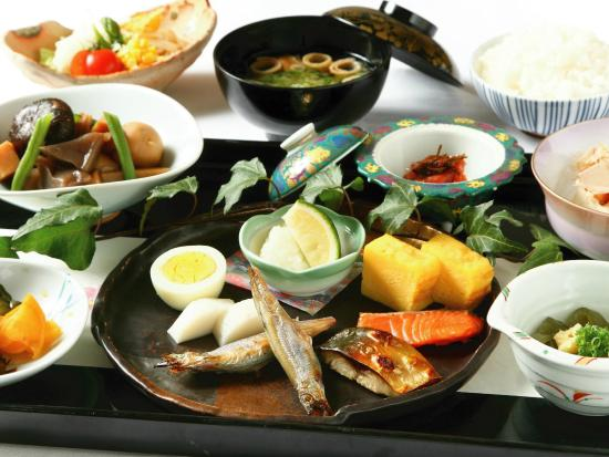 APA Hotel Hakata Ekimae: Breakfast buffet_image of the Japanese food