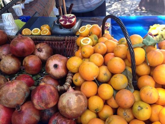 Karakoy Port Hotel: fresh juices nearby