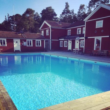 The Sandhamn Yacht Hotel: Utomhuspoolen
