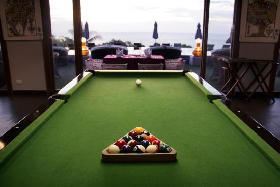 Ayara Kamala Resort & Spa : Billiards