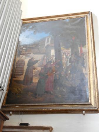 Сполето, Италия: Chiesa di S. Domenico - affreschi 6