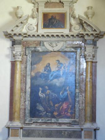 Сполето, Италия: Chiesa di S. Domenico - affreschi 7