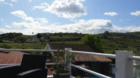 15fa16c1be8 vue terrasse - Foto de Casa Relogio de Sol