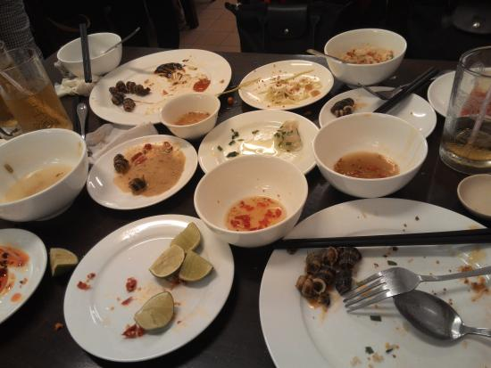 Saigon Vietnamese Delicacy: So tasty, we finish up fast before I can take a picture, haha...