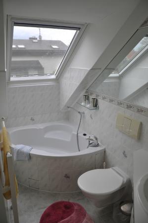 A. V. Pension Praha: Salle de bains