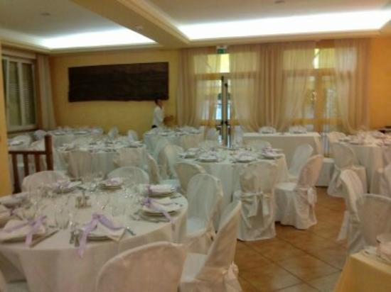 Albergo Miramonti: sala ristorante