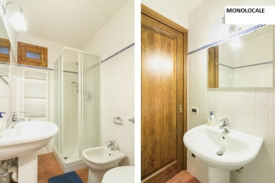 Casa Podere San Firenze: Bagno Monolocale