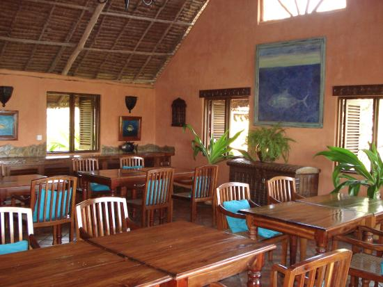 Kinasi Lodge: Our dining room