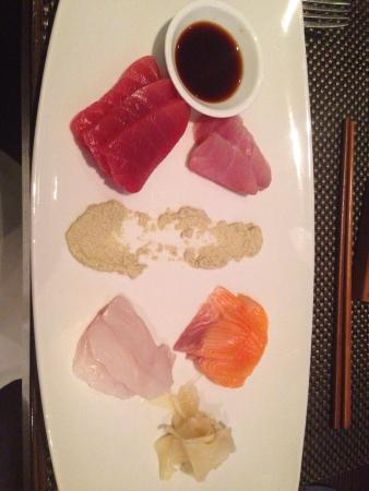 The Grill by Sean Connolly: Sashimi platter