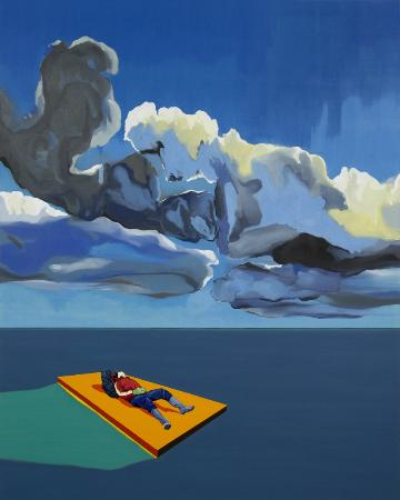Raft by Matan Ben Tolila shown at Noga Gallery in 2014