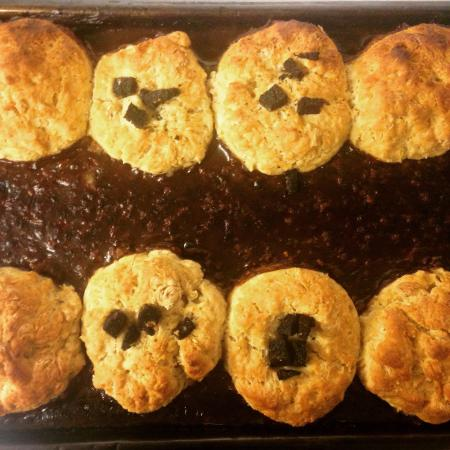 JJ's Kitchen : Mince and Black Pudding Dumplings