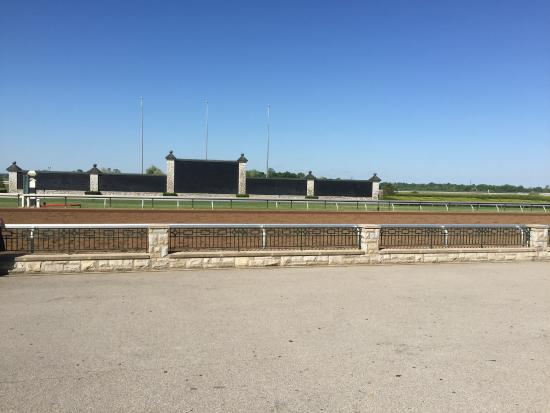 Horses racing to the finish line - Picture of Keeneland ...
