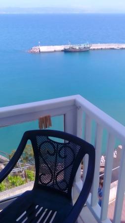 Hotel Galini Mare: sea view