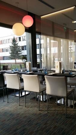 Novotel Wroclaw City: ресторан