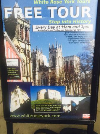 York Rose Walking Tours