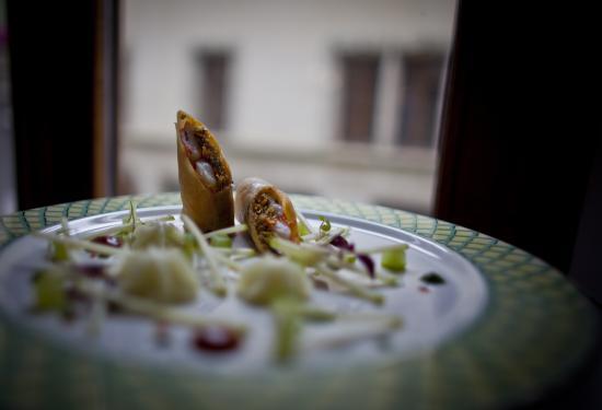 Auberge du Raisin: Cuisine