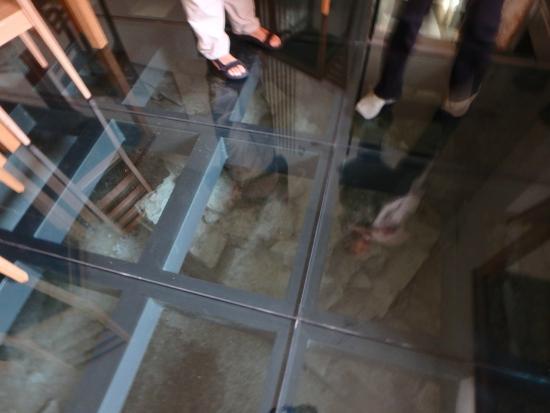 Arco Di Riccardo Under Glass Floor Views