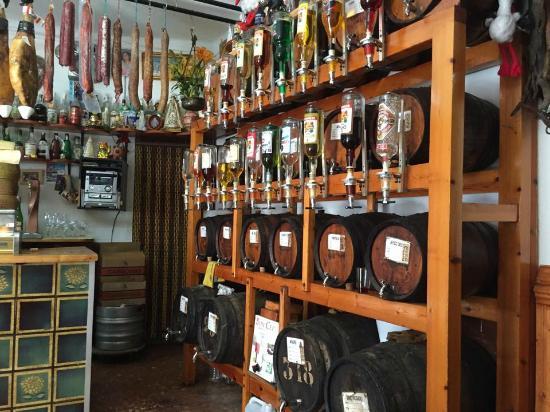 Alcool maison photo de bodega el rocio lloret de mar for Alcool de verveine maison