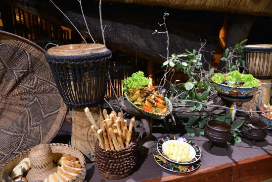The Boma - Dinner & Drum Show: Boma Restaurant Salad Bar
