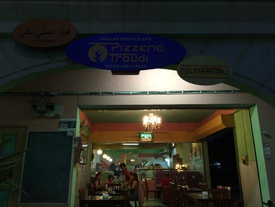 Pizzeria Traudi, Kota Bharu: Delicious Pizza on east coast. My kids really loved pizza fungi, my wife Napoli (or should I cal