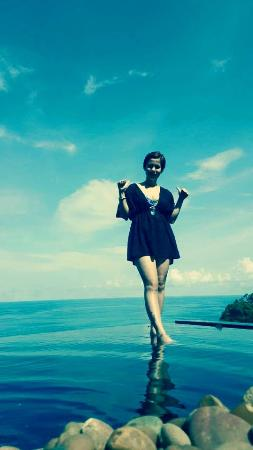 Paresa Resort Phuket: The Infinity Pool and the Andaman Sea.