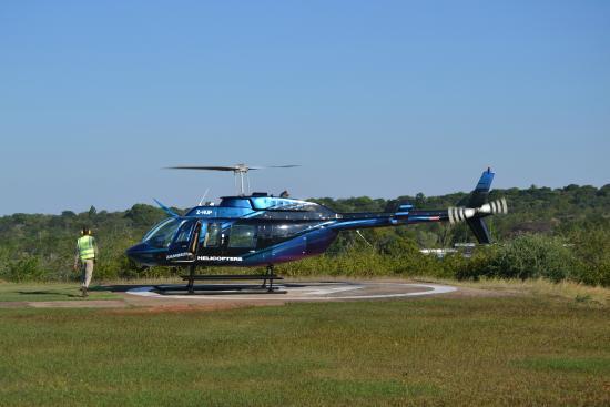 Livingstone  Bild Von Shearwater Victoria Falls  Helicopter Flights Viktor