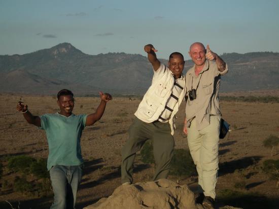 Ekea Safaris: james  ken and me