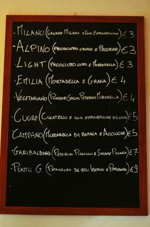 Garibaldi Enoteca Panineria Gastronomia