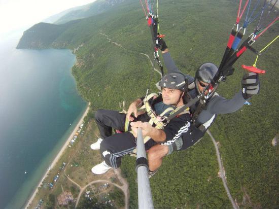 Paragliding Tandem Flights Ohrid