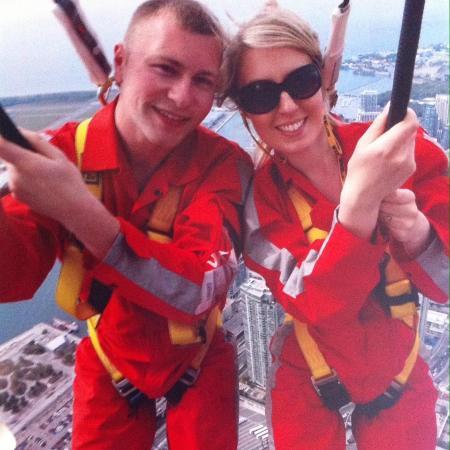 Edge Walk at the CN Tower : Unforgettable!