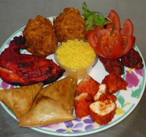 Christmas In India Food.Christmas Day Supreme Gate Of India Tiverton Traveller