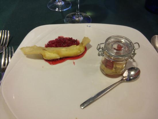 Hotel La Barrosa: caramelo brick y terrina foie