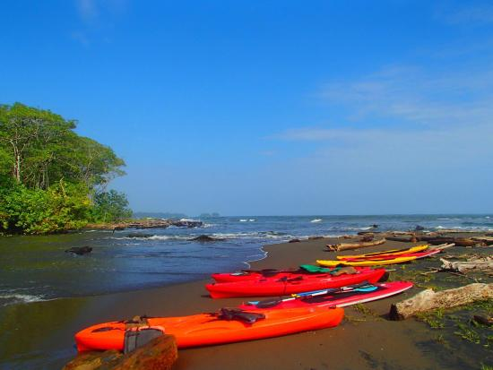 Manzanillo, Costa Rica: Kayaking at Gandoca