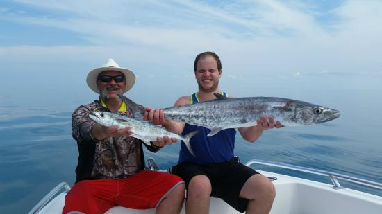 Something Fishy Charters: King and Spanish Makerel