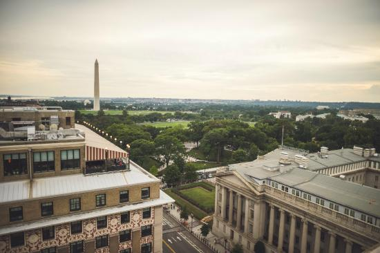 Old Ebbitt Grill: View from Rooftop