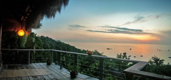 Boracay Private Mt. Casitas Villa: Level 2 Topfloor Balcony