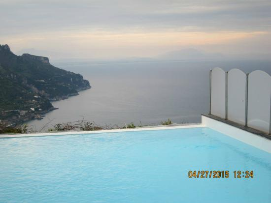View From Hotel Picture Of Hotel Villa Fraulo Ravello