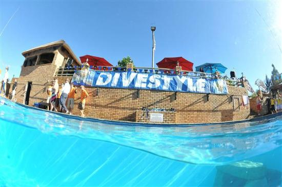 Scubaversity: Our Facility from the pool