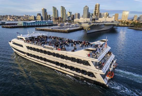Inspiration Hornblower Is The Largest Dinner Cruise Ship In San Diego Picture Of Hornblower