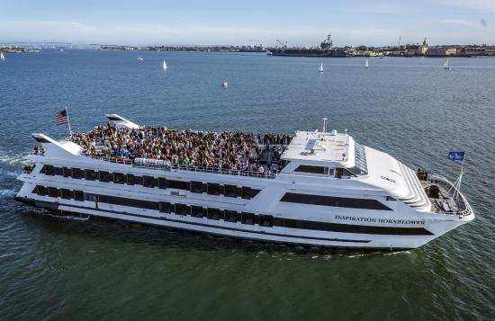 Amazing Views Of San Diego Bay From The Rails Of Your Hornblower Yacht Picture Of Hornblower